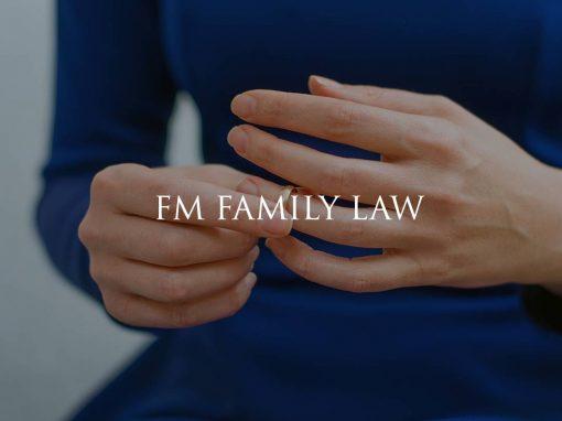 FM Family Law website design