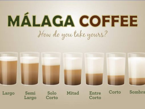 Malaga coffee illustrations