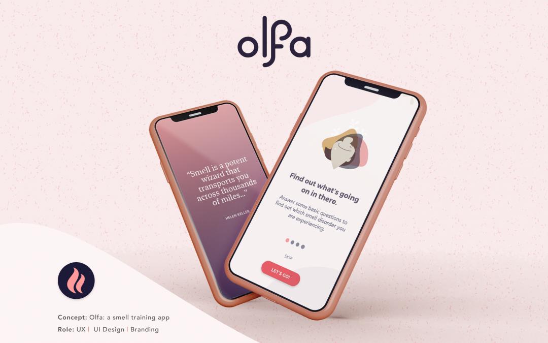 Olfa UX/UI & Branding